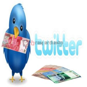 Twitter, Mandapatkan Uang, Menghasilkan Uang Twitter
