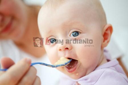makanan balita. balita usia 6 bulan, menu makanan balita