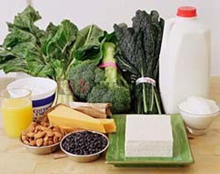 Makanan Sumber Kalsium, Makanan Kaya Kalsium