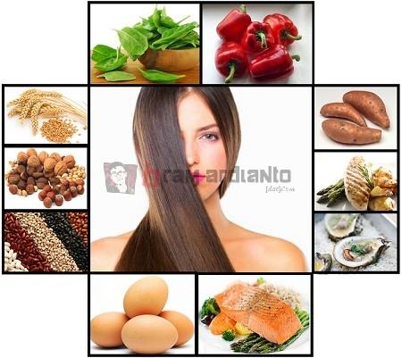 vitamin rambut, vitamin rambut rontok, vitamin untuk rambut, vitamin alami rambut