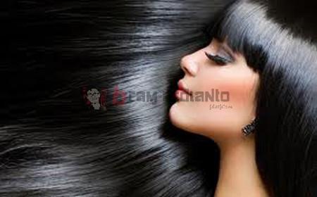 rambut hitam, rambut hitam alami, bahan penghitam rambut, cara menghitamkan rambut