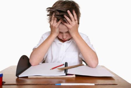 stres, stres pada anak, anak stres