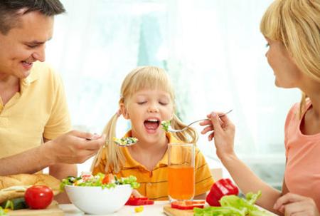 anak makan sayur, anak suka sayur