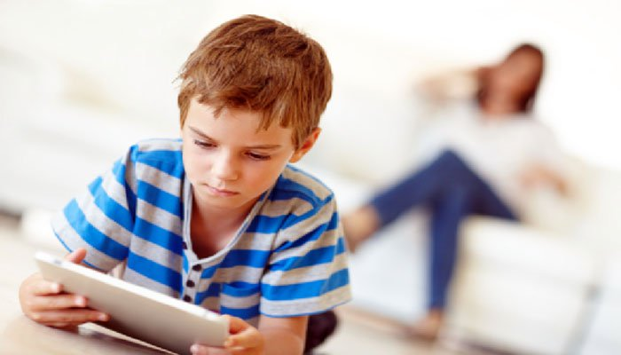 Technology addiction can make children stutter