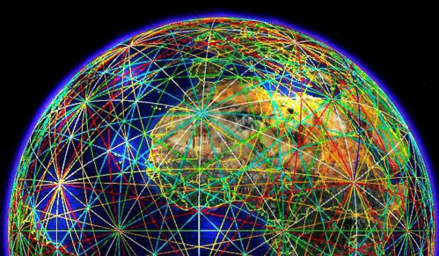 chakra bumi, pusaran energi bumi, lokasi chakra bumi