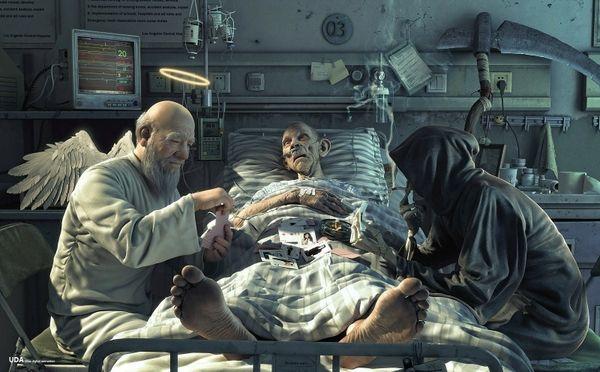 kematian, perasaan takut mati, menghilangkan takut mati, khawatir mati