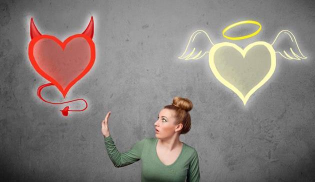 hati dan pikiran, mendengarkan hati atau pikiran